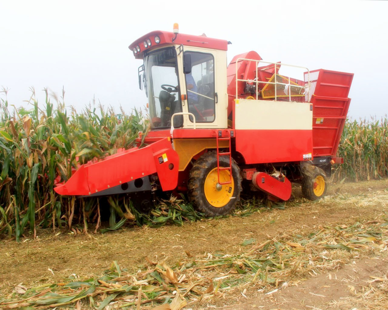 4YZ-3 Corn Harvest Machine